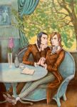 lovers in the spring by Ducasse