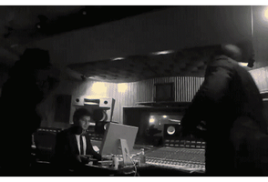 Kanye West Dancing In The Studio by kaniejka