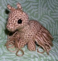 Tan Crocheted Alpaca by Eliea