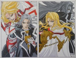 Trinity Blood- Cain and Abel by LadyNin-Chan