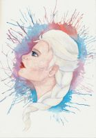 Elsa the Snow Queen by diegio1996