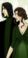 Evelyn and Severus- Acceptance by JosieCarioca