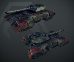 Renegade X - Light Tank by Havoc89