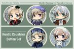 APH button part 6 Nordic by jinyjin