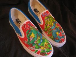 +Ninja Turtle Vans+ by corgi