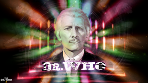 50th Anniversary Peter Cushing Wallpaper by theDoctorWHO2