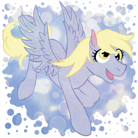 Gift - Derpy Hooves by LilyWinterharp