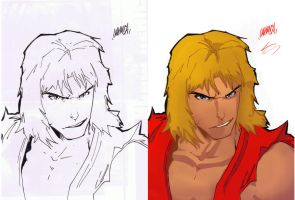 SDCC UDON sketch colors... by thunderking