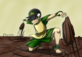 Toph Rocks coloured by mariahmerry