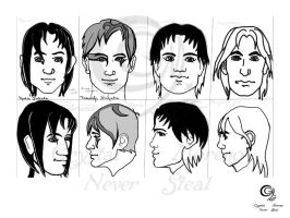 Character-heads by CrystalAlice