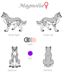 Magnolia Reference Sheet 2015 by TheDragonInTheCenter