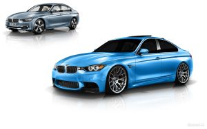 BMW F30 M3 digital tuning by BlaCkOuT1911