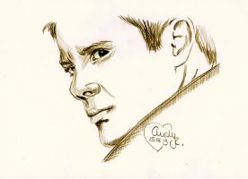 Jensen as Dean by Cindy-R