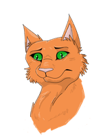 Firestar by Inky-Wolf-Tracks