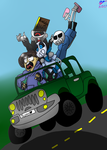 Never Trust Blueberry To Drive(updated) by Inkdrop10