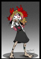 """Nega Emmie in Emmie """"Disguise"""" by The-real-Vega777"""