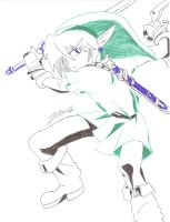 Adult Link (OoT) by DJNightmar3