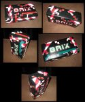 neon candystripe brix by ClaudiaYvette