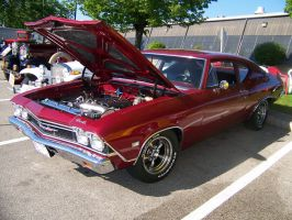The Red Chevelle 2 by PhotoDrive