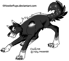 New Char-Need Help With Name by HowlerPups
