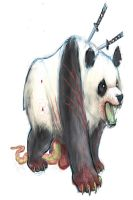 Panda Zombie  by williamsquid
