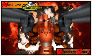 Steampunk Scud - halftone by thesometimers