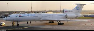 Spotting : Tu-154 panoramic by MarcinG1