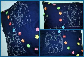 Pillow: GerIta + Spamano by KiiiChan