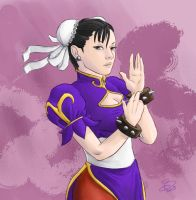 Chun Li by Callilf