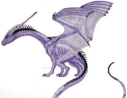 Dragon design :) by EloiseS16