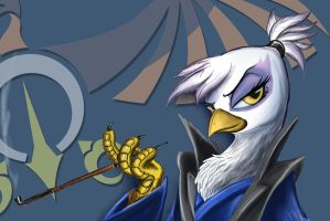 Japanese Gilda by DLowell