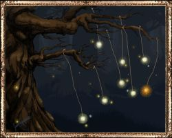 The Firefly Tree by jessieal