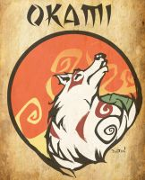 Okami Contest Entry Dustin by DustinEvans