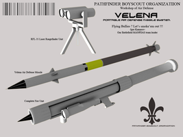 Velena Portable Air Defense Missile by Stealthflanker