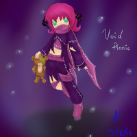 League of Legends: Void! Annie by TheMuteMagician