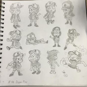 Day 44 : Dipper Pine by The-BlackToteM
