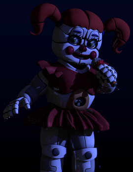 I'm done with Circus Baby models. by MateusRiff