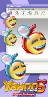 Yahoo Messenger 6 icons by weboso