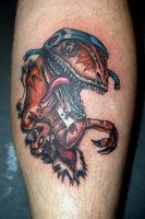 Raptor Tattoo by tstctc