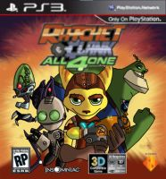 Ratchet and Clank all 4 one by SEBASTIEN11
