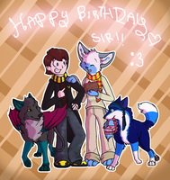 Happy birthday Siri X3 by cherohero