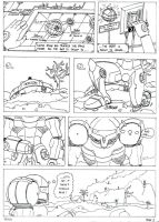 Samus Aran comics 1 by ness84