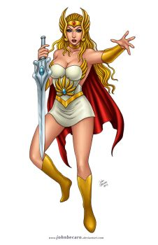 Commission: She Ra by johnbecaro