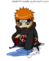 Chibi - Pein by cresent-lunette