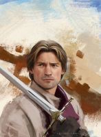 Other version of Jaime Lannister study by Lasthielli