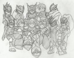 CM: MegaMan Anniversary Completed by Kenji42