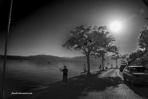 Fishermen by Aneede