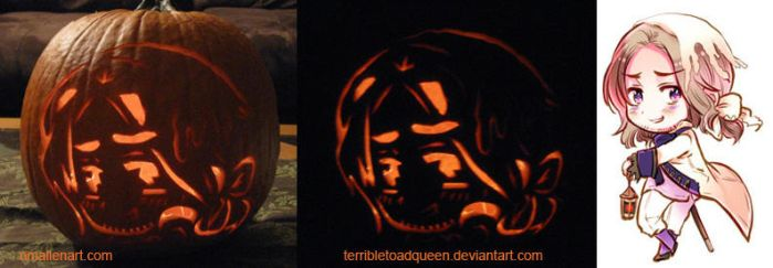 France O Lantern by TerribleToadQueen