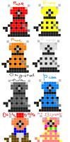 Random Daleks by TheIrritatingPenguin