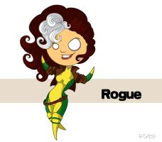 Marvel Stumpiez: Rogue by rickytherockstar